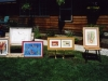 "10 Printmaking by Dianna for ""Art in the Garden"" in 1997."